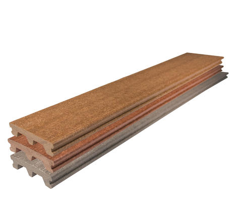 Ultradeck Rustic 1 In X 5 3 16 In X 4 Ft Grooved Edge Composite Decking Board At Menards
