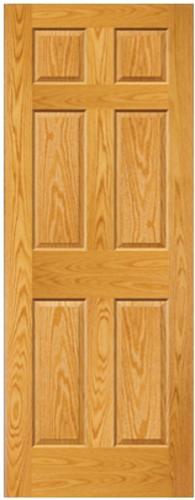 Mastercraft 174 Prefinished Golden Oak Raised 6 Panel