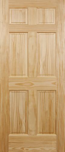 Mastercraft Pine 6 Panel Interior Door Only At Menards