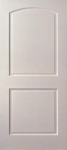 Mastercraft Primed Arch 2 Panel Interior Door Only At Menards