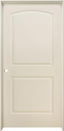 Mastercraft Primed Arch Raised 2 Panel Prehung Interior Door At