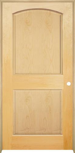 Genial Mastercraft® Maple Arched Raised 2 Panel Prehung Interior Door At Menards®