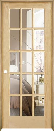 Mastercraft® Ready To Finish Pine Prehung Interior Door At Menards®