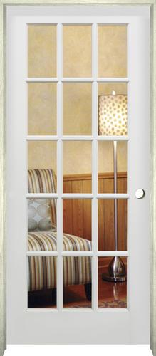 Mastercraft Primed Woodlite 15 Lite Interior Door System At