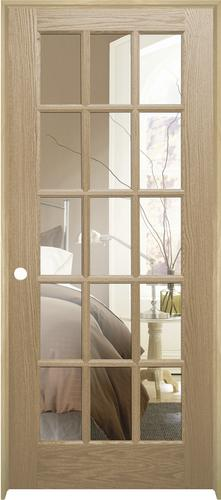 Mastercraft Oak Woodlite 15 Lite Interior Door System At