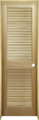 Mastercraft 174 Pine Full Louvered Interior Door System At