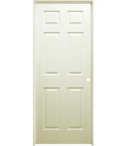 Mastercraft Primed Woodgrain 6 Panel Interior Door System At Menards