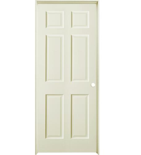 Mastercraft Duracore Primed Smooth Raised 6 Panel Interior Door System At Menards