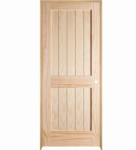 Mastercraft Pine 2 Panel Square Plank Stile And Rail Interior Door System At Menards