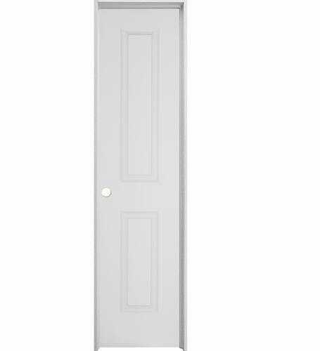 Mastercraft Prefinished Brite White Raised 2 Panel Hollow Core Interior Door System At Menards