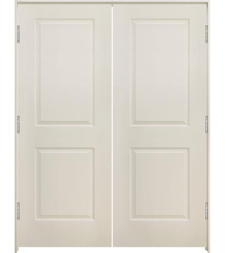 Mastercraft 48 Wx80 H Primed Smooth Square Raised 2 Panel Hollow Core