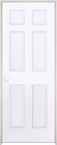 Merveilleux Mastercraft® Primed Woodgrain 6 Panel Interior Door System ...