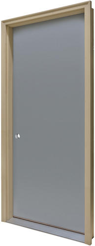 Commander® Primed Steel Flush Prehung Entry Door At Menards®