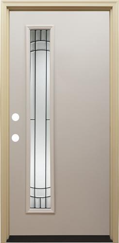 Mastercraft 174 Primed Offset Steel Exterior Door System At