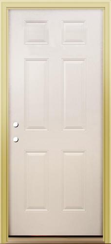 Mastercraft 174 Primed Steel 6 Panel Exterior Door System At