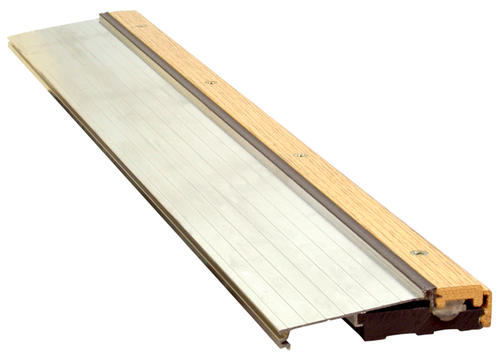 Door Threshold Parts Replacement Threshold Made Of Bronze Finished Aluminum Easily Replaces An