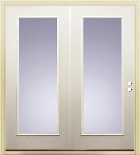 center hinged patio doors. Mastercraft® Primed Steel 72\ Center Hinged Patio Doors