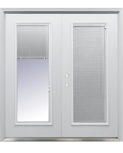 French Exterior Doors Steel: Mastercraft® Primed Steel French Patio Door With Lift-N