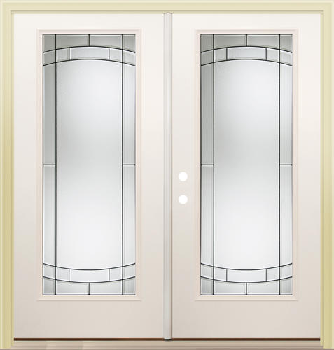 Mastercraft Sv 686 Steel 72 X 80 Full Lite French Patio Door At