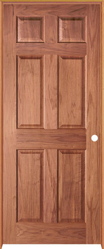 Beau Mastercraft® Cherry 6 Panel Prehung Interior Door At Menards®