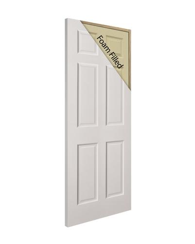 Mastercraft® Primed 6 Panel Duracore® Interior Door Only At ...