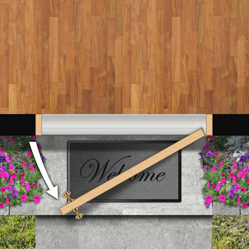 Mastercraft® P 1 Flush Steel Prehung Exterior Outswing Door At Menards®