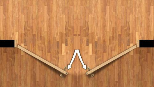 Mastercraft Primed Woodgrain Raised 6 Panel Interior Double