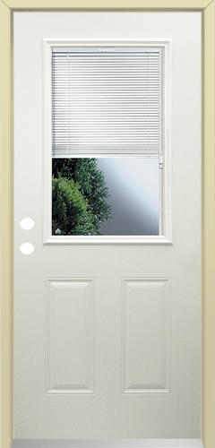 Exterior Door With Blinds 34 Blinds Between the Glass Steel Doors