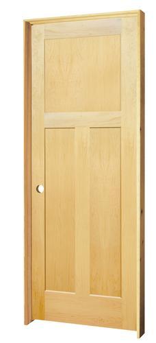 Mastercraft® Maple Flat 3 Panel Prehung Interior Door At Menards®