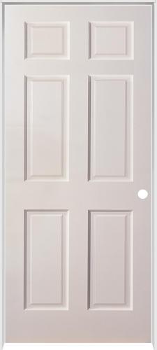 Mastercraft® Duracore® Primed Smooth Raised 6-Panel Prehung Interior Door at Menards®  sc 1 st  Menards & Mastercraft® Duracore® Primed Smooth Raised 6-Panel Prehung Interior ...