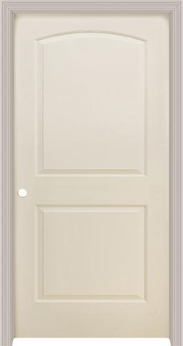 Mastercraft® Primed Split Jamb Arched 2 Panel Prehung Interior Door At  Menards®