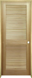 Mastercraft 174 Pine Full Louvered Interior Door System At