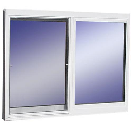 48 W X 36 H White Aluminum Utility Window With J Channel At Menards