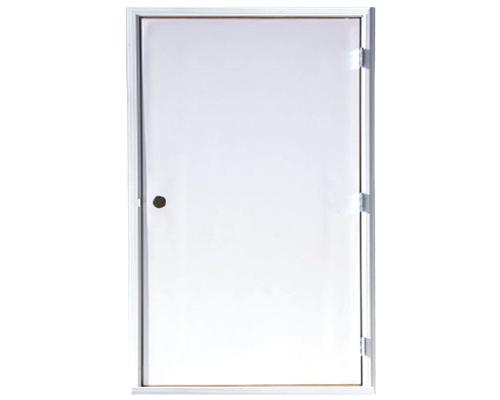 48w X 80h White Reversible Swing Flush Steel Service Door At Menards