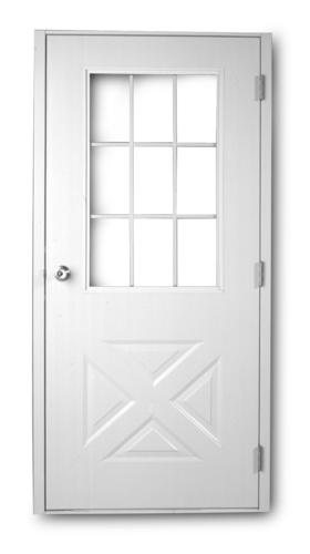 Crossbuck entry door 9 lite crossbuck exterior for 9 lite crossbuck exterior door