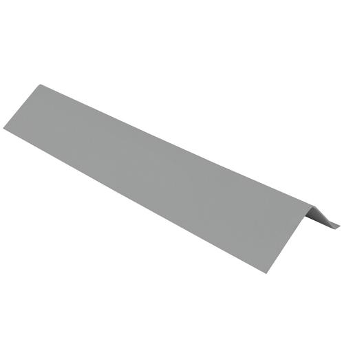 1 3 4 X 1 3 4 X 10 Steel Roof Edging Gutter Apron At Menards