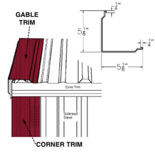 Steel Corner And Gable Trim At Menards®