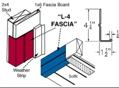 Steel L 4 Fascia At Menards