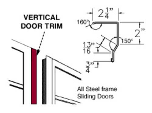Steel Vertical Door Trim At Menards®