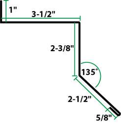 10 Steel Sliding Door Track Cover At Menards 174