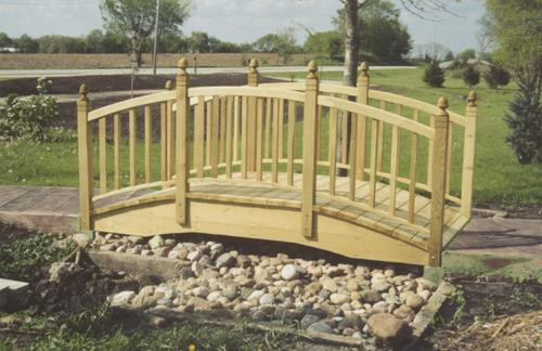 12 Pressure Treated Bridge Stringer At Menards