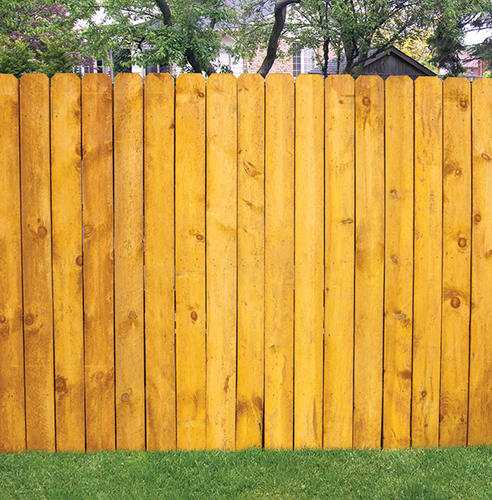 6 X 8 Cedartone Heavy Duty Dog Ear Fence Panel At Menards 174