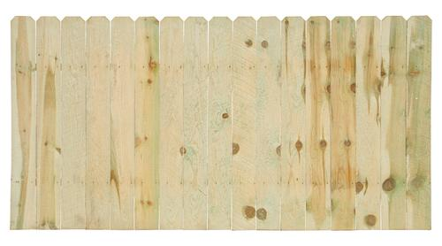 4 X 8 Pressure Treated Dog Ear Fence Panel At Menards