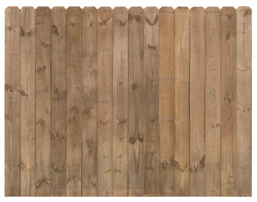 6 X 8 Cedartone Premium Dog Ear Fence Panel At Menards 174