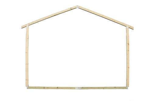 12 Gable Ez Build Storage Building Frame At Menards