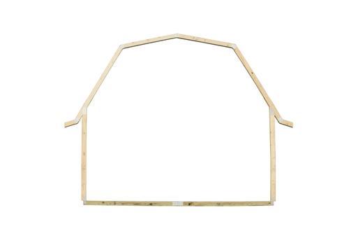 10' Gambrel Barn EZ Build Storage Building Frame at Menards®