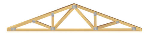 30' Post Frame Truss 4/12 Pitch at Menards®