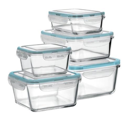 Fire U0026 Ice® Glass Food Storage Set   10 Piece Set At Menards®