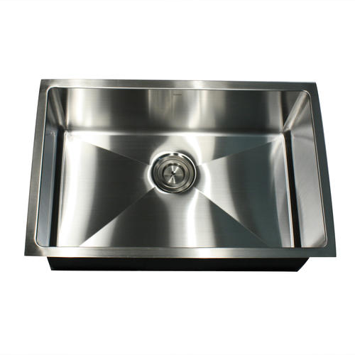 Nantucket Sinks Undermount 28 Stainless Steel Single Bowl Kitchen Sink At Menards