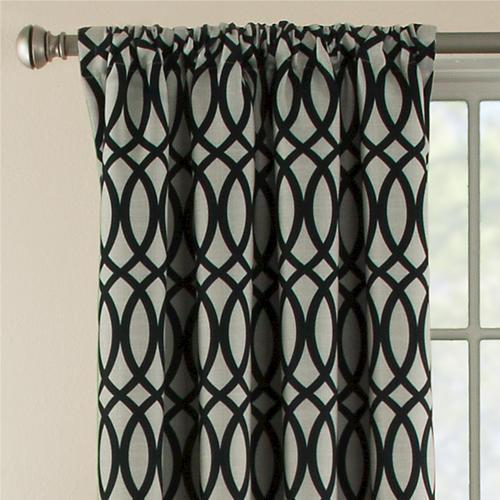 natco sydney rod pocket thermal window panel 42w x 84l at menards - Menards Curtains